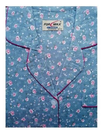 piżama damska tradycyjna FLANELOWA DENIM M-XXXL