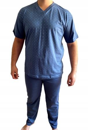 piżama męska KAROL - CIEMNY DENIM M-5XL