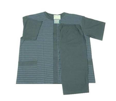 piżama męska KONRAD - POPIEL 3XL-5XL