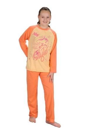 piżamka dziewczęca DŁ.RĘK. MORELA 86 cm - 164 cm
