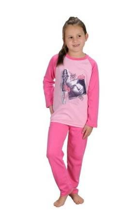 piżamka dziewczęca DŁ.RĘK. RÓŻ 86 cm - 164 cm
